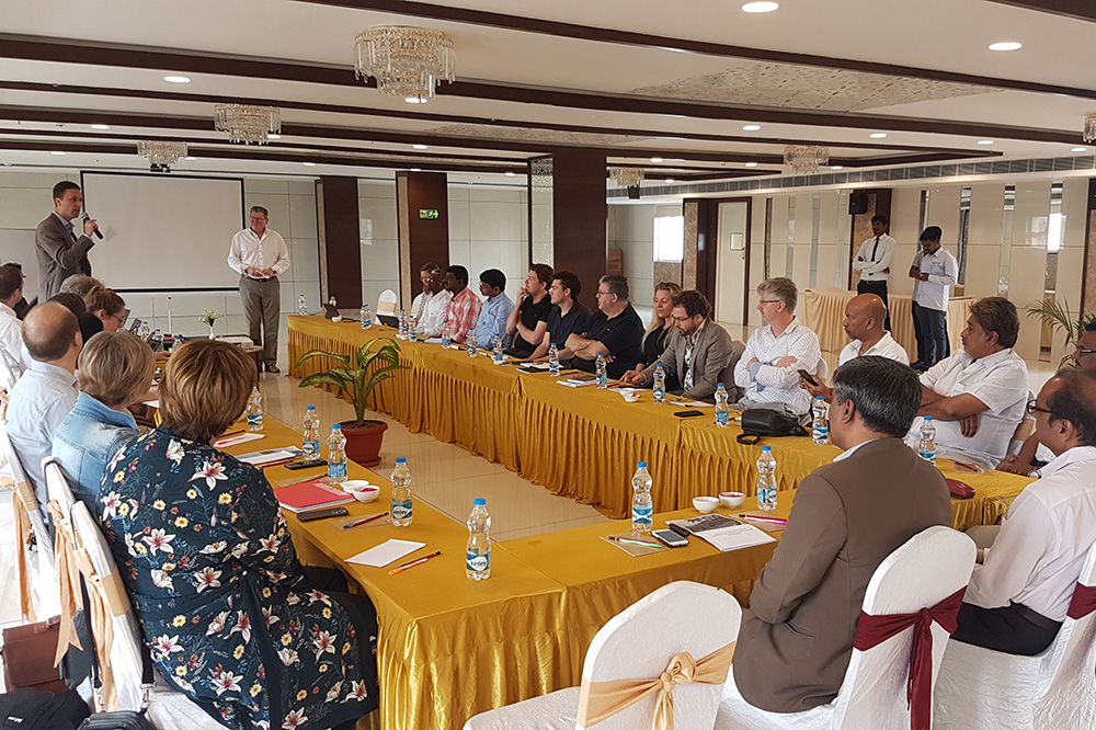 TruStone Initiative: Participating companies and governments visited India