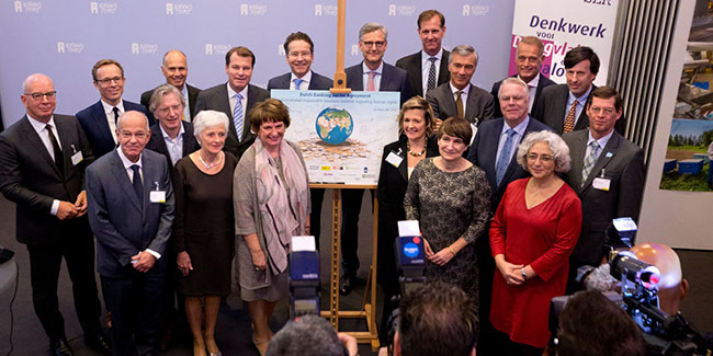 Dutch Banking Sector Agreement signed by banks NGOs, trade unions and government. IRBC agreement.