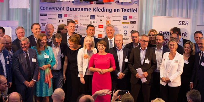 75 signatures under IRBC Agreement on Sustainable Garments and Textile.