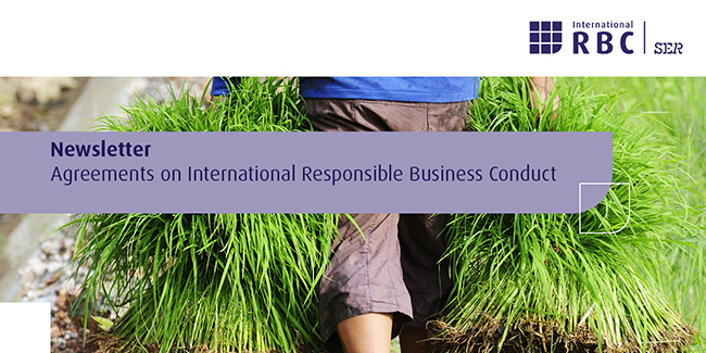 Newsletter Agreements on International Responsible Business Conduct